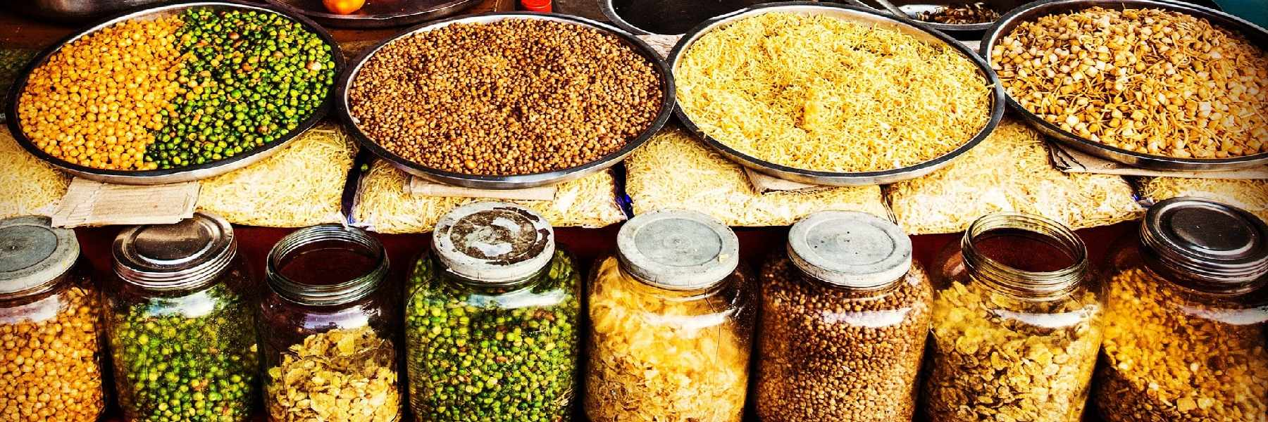 Aromas y colores en la India