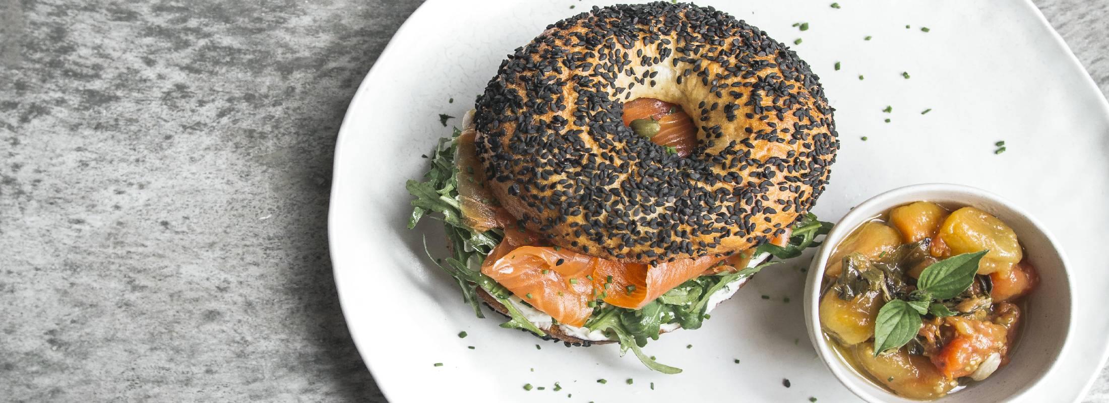 comida saludable en retiro de bali