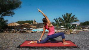 Yoga en el retiro de fuerteventura