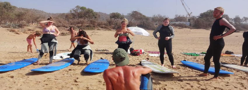 surf camp marruecos