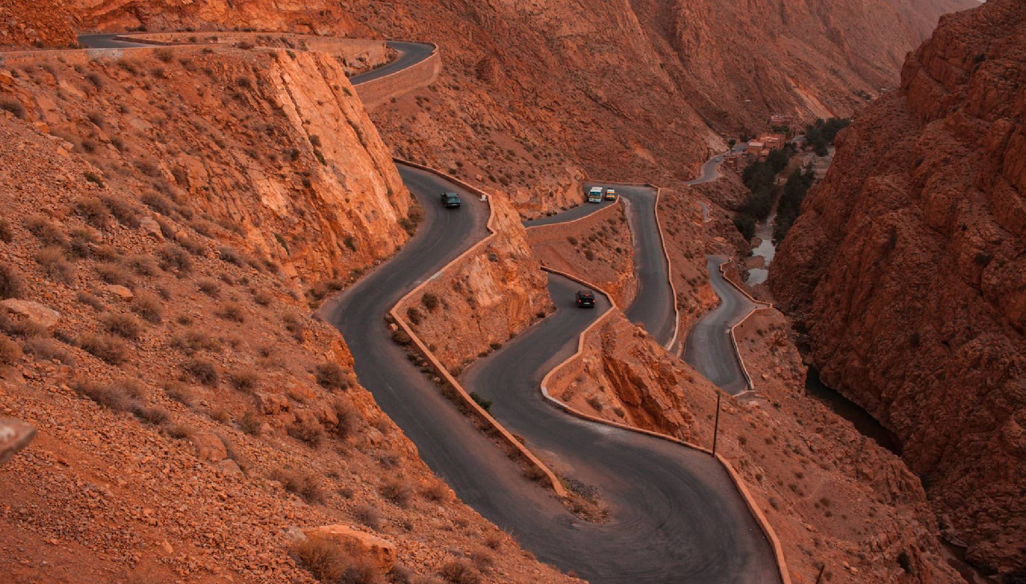 Montañas atlas marruecos senderismo
