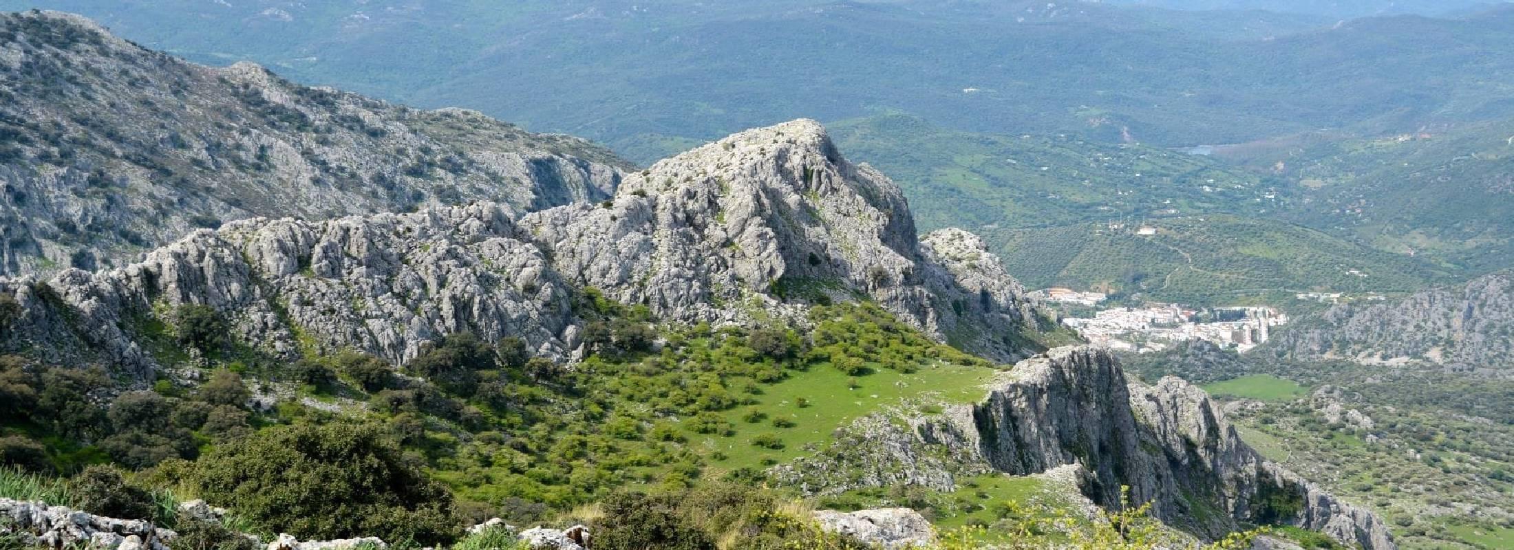 Sierra de Grazalema en cádiz ruta senderismo