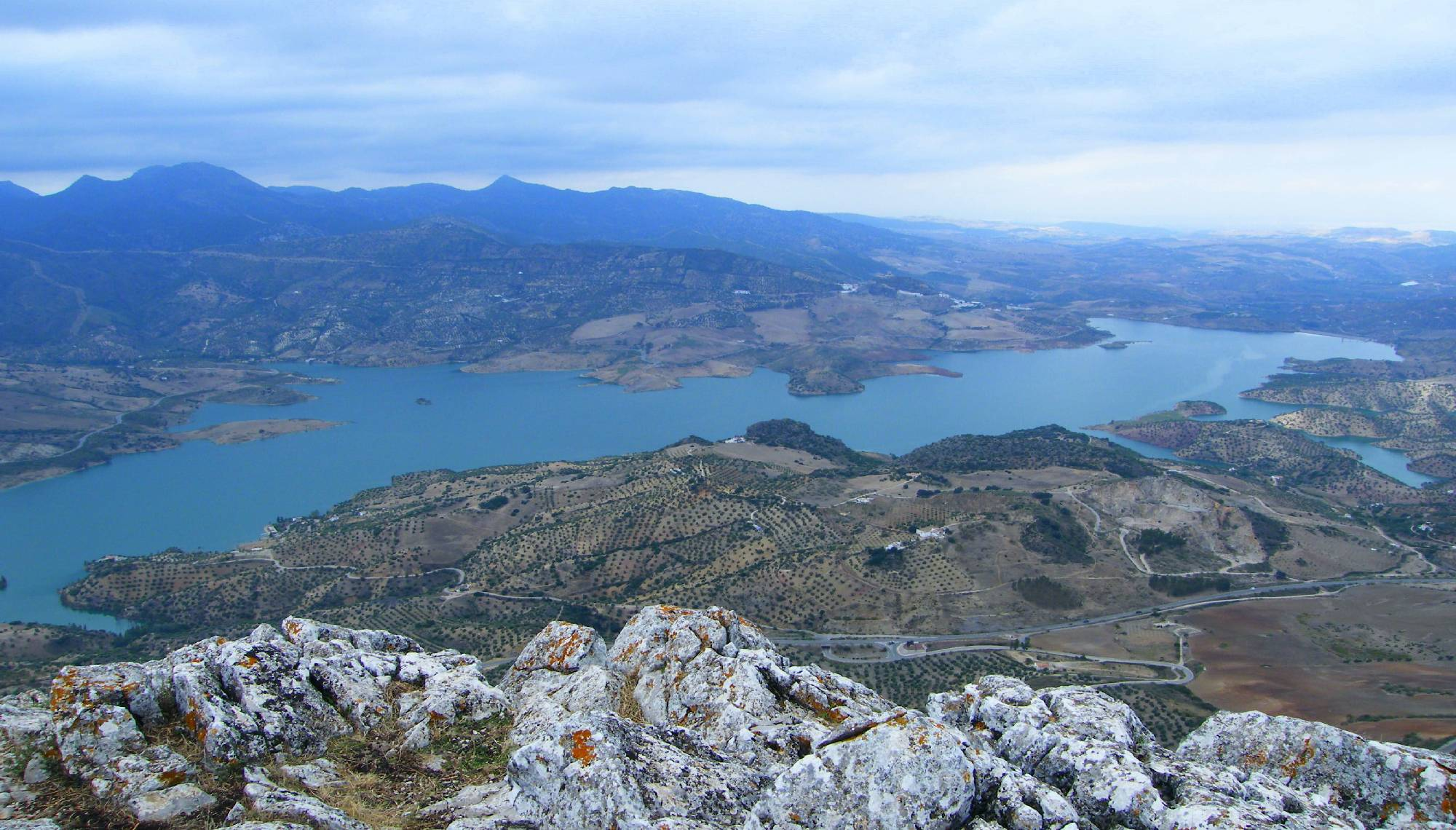 Hiking through the Sierra de Grazalema