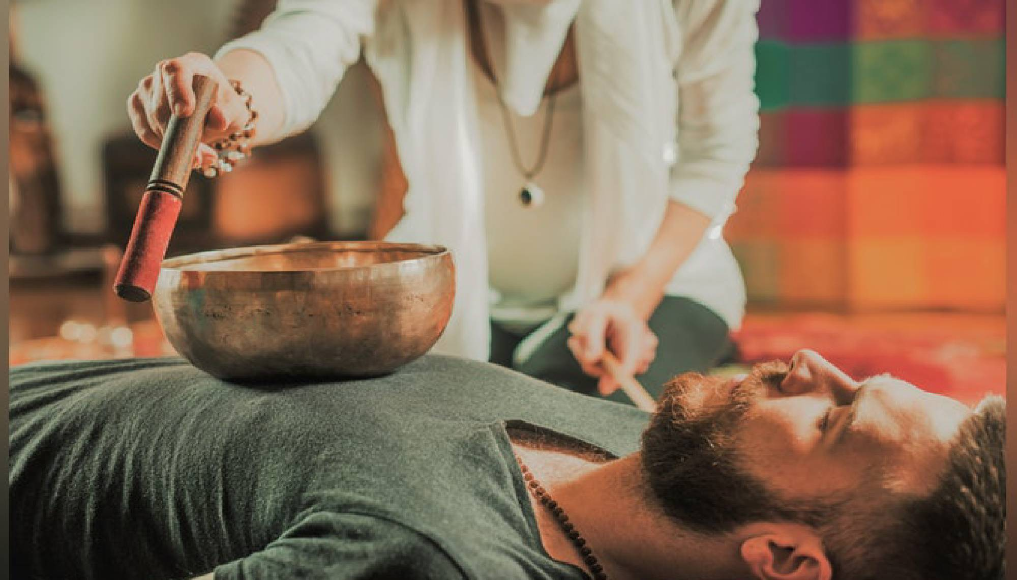 retreat in lanzarote treatment with tibetan bowls