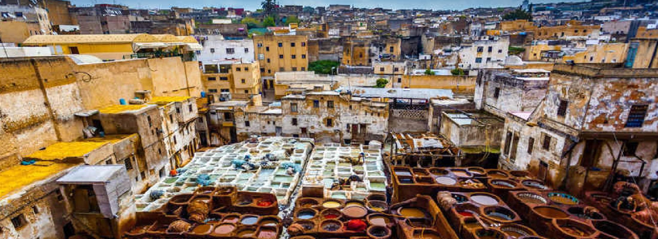 Vistas de Marruecos