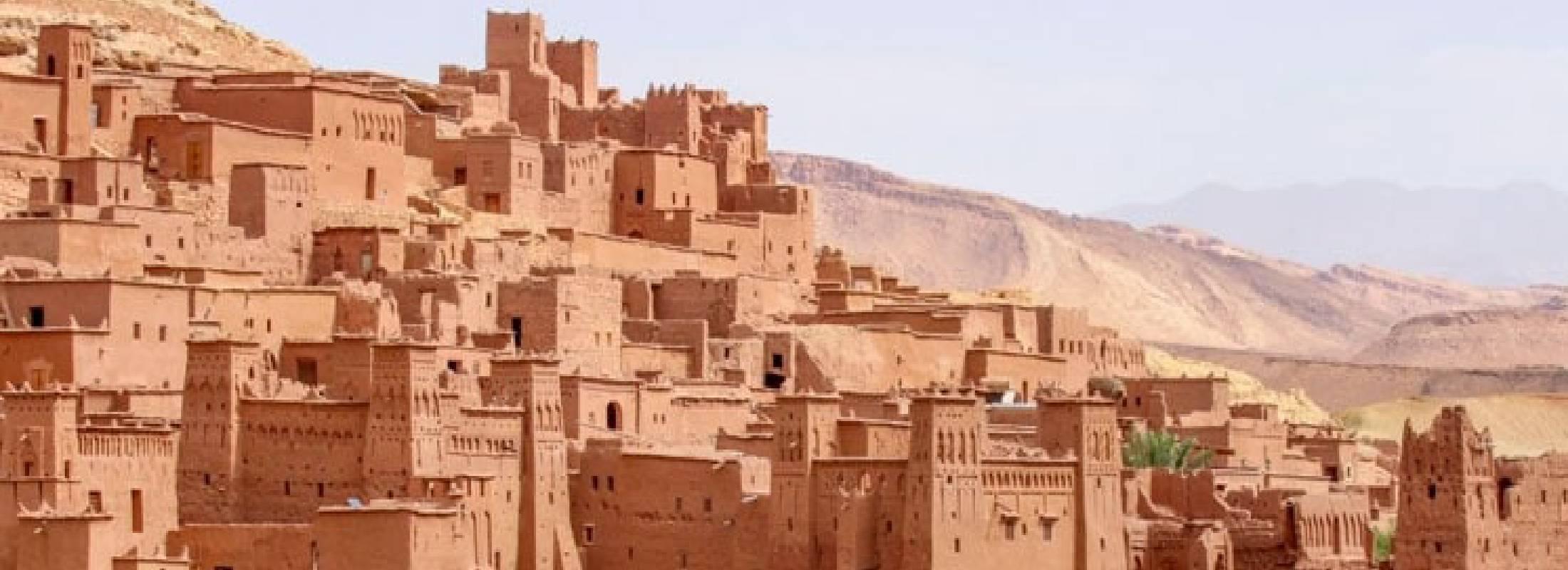 Las dunas de merzouga, Marruecos