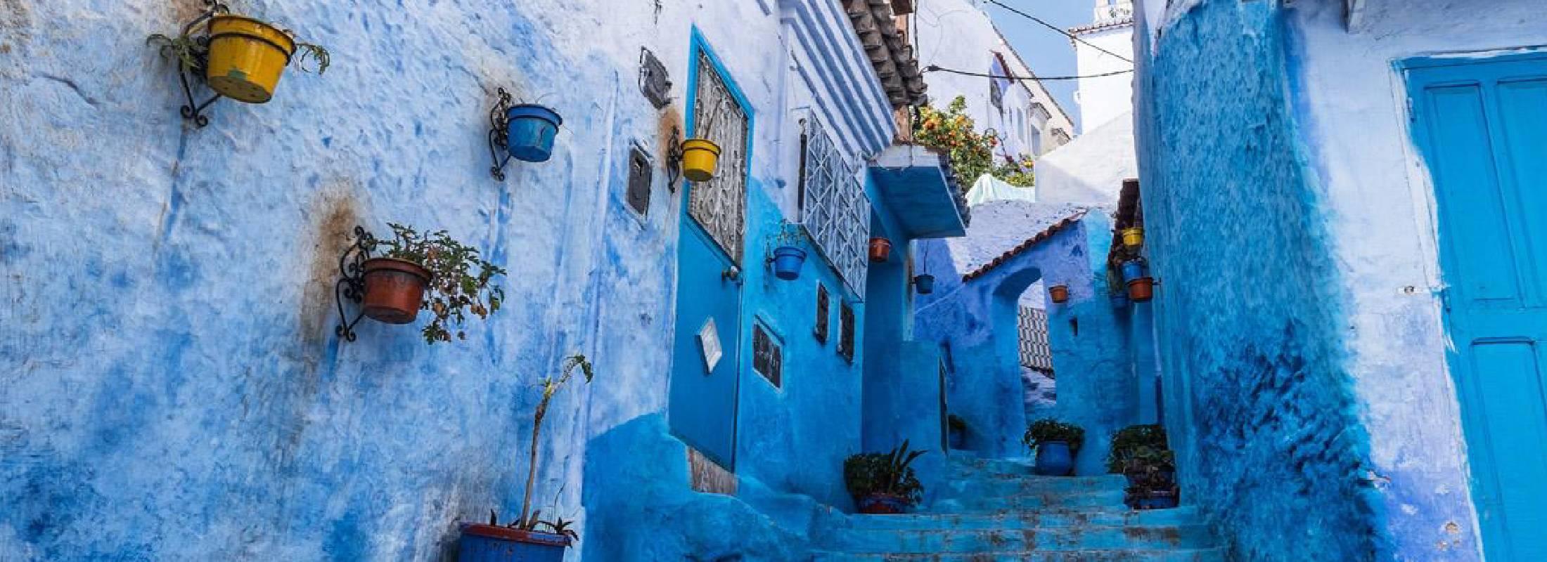 Calles de Xaune, Marruecos