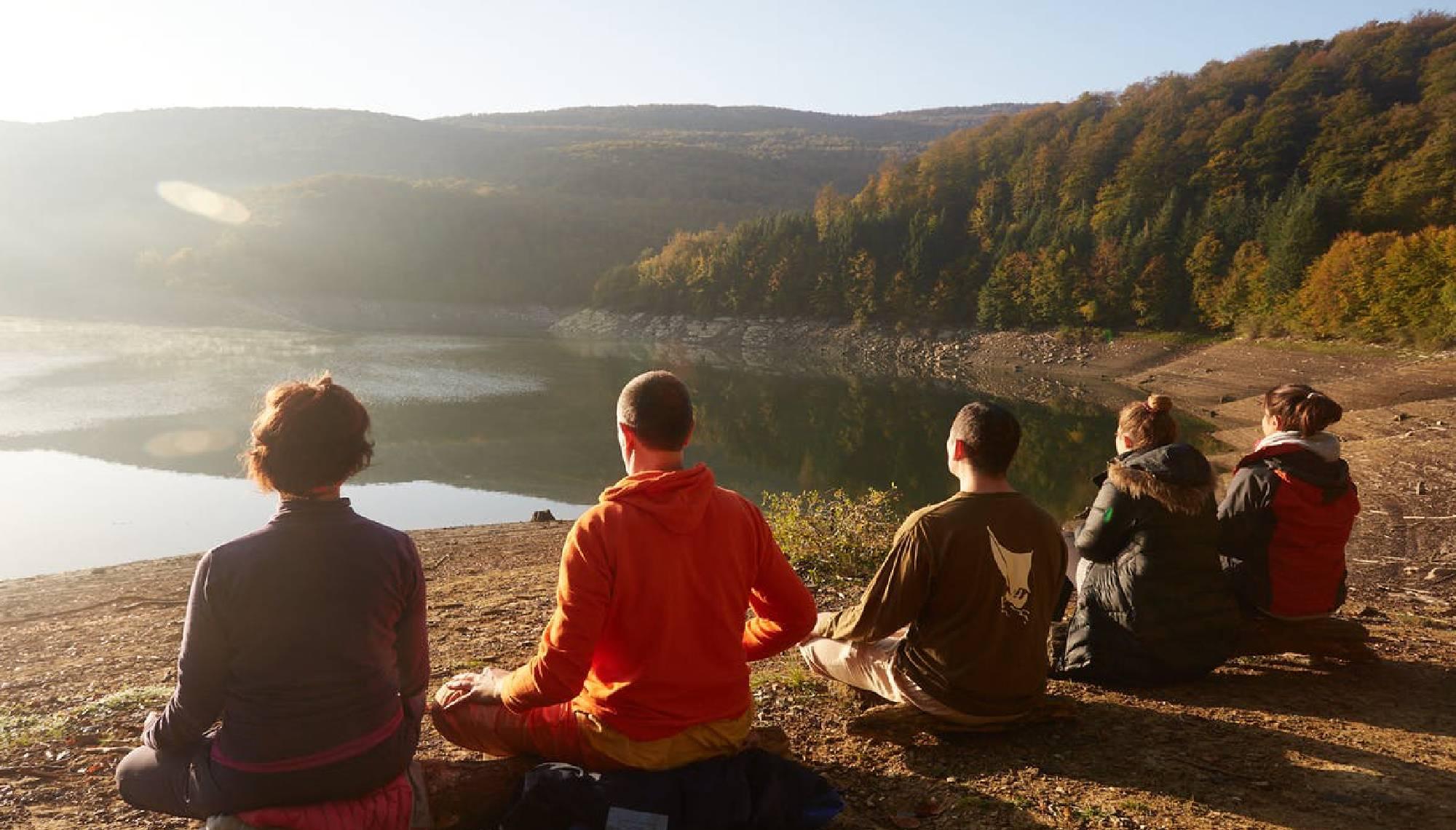retiro de yoga en el pirineo de navarra en plena naturaleza