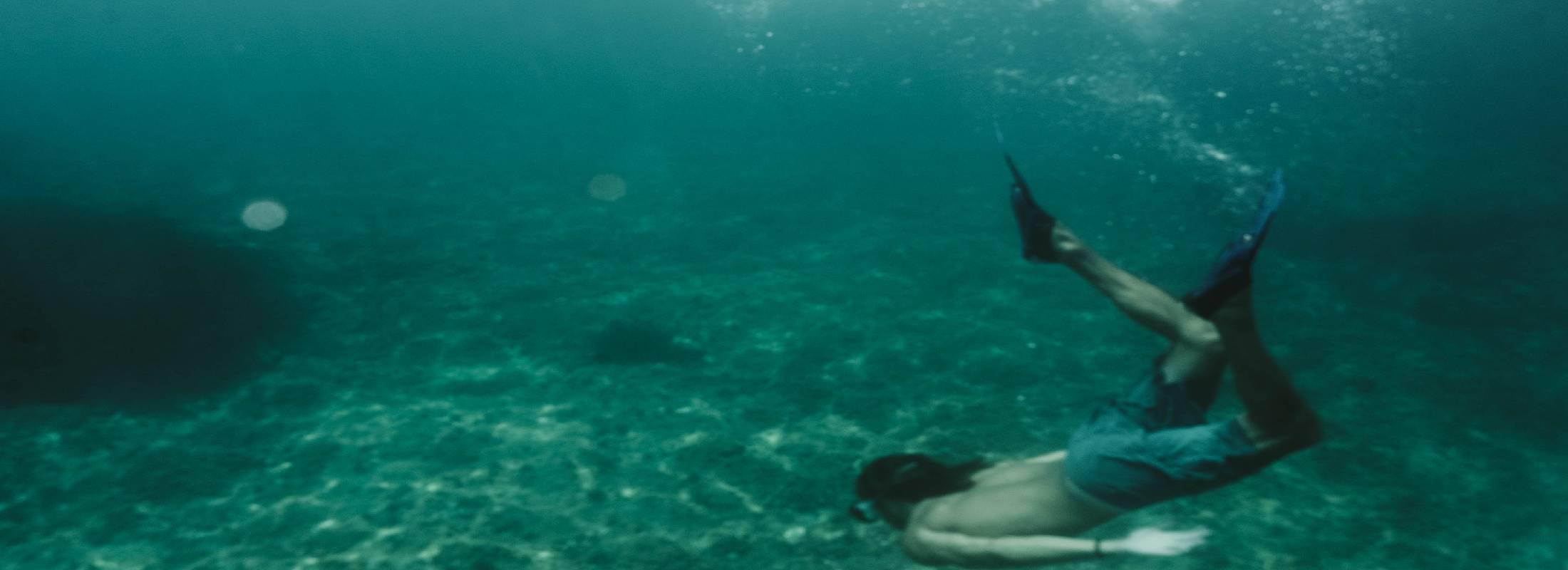 snorkel en el glamping camp de alicante