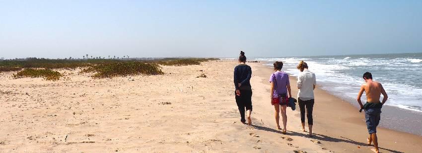 paseos por la costa áfricana en grupo