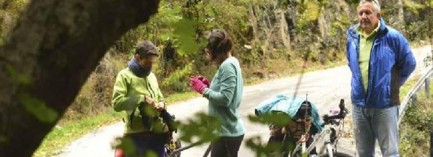 ruta ciclista por españa en familia
