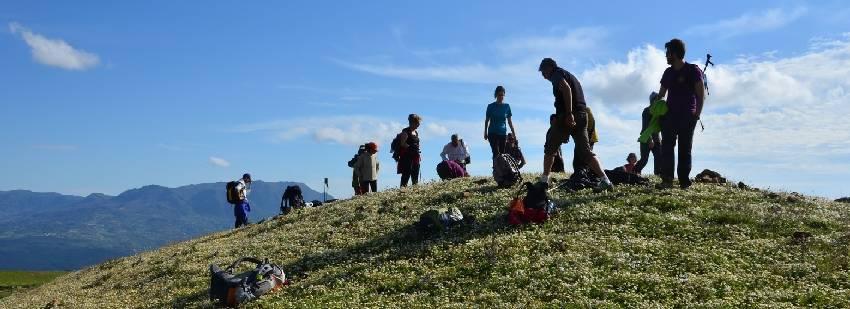 senderismo en grupo en Marruecos fez