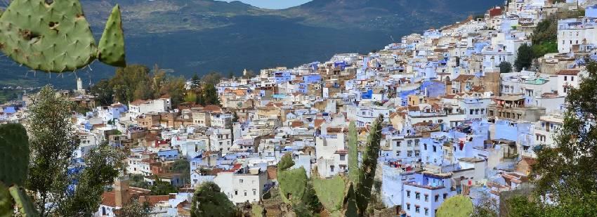 vistas desde la montaña en marruecos