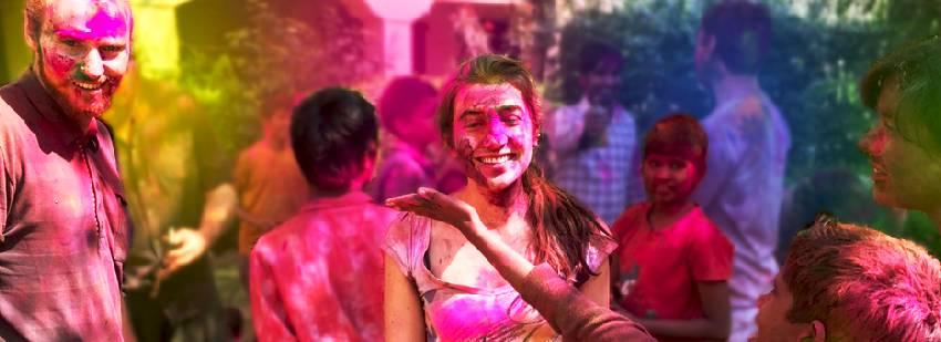 holly festival en la india